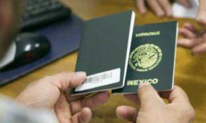 cita sre sacar renovar pasaporte en linea internet online numero telefono